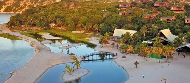 Nghunghwa Lodge - Bilene accommodation - Mozambique