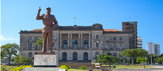 The largest city in Mozambique is the country's capital Maputo, previously known as Lourenco Marques