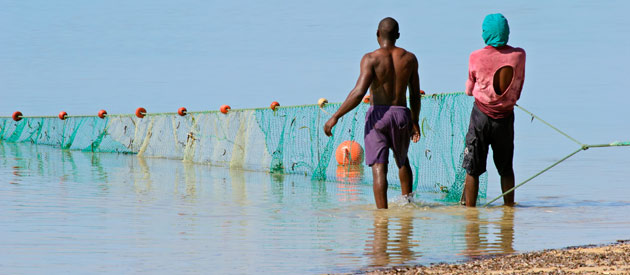 Pemba is a small port city in Mozambique, and is the capital of the province Cabo Delgado​.